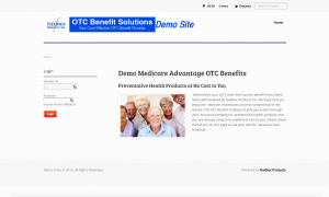 How Does it Work? Our OTC Benefits Program Demo Site.