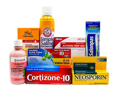 Ointments and Topicals